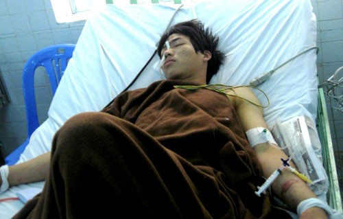 Hung thủ Ngô Hùng Quân gây ra vụ giết người tại TP Biên Hòa (Đồng Nai) - Ảnh: Kim Cương