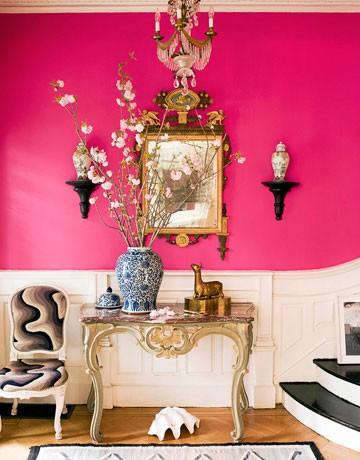 Màu hồng cho không gian thêm lãng mạn - ảnh 1
