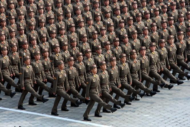 Những hình ảnh về quân đội Bắc Triều Tiên (kỳ III) - ảnh 2