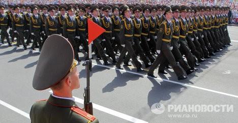 Màn duyệt binh của quân đội Belarus