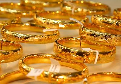 Giá vàng trong nước sáng nay đã tăng trở lại