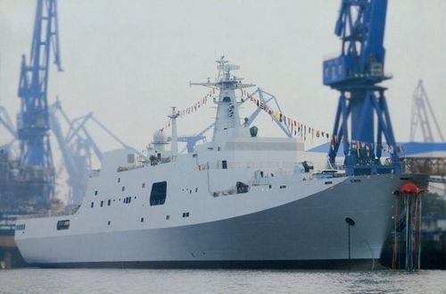 Tàu dự án type 071 chuẩn bị hoàn thiện