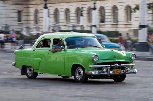 Xế cổ tại thủ đô Cuba - ảnh 5