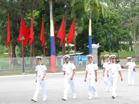 Lối vào Trường sĩ quan quan đội Venezuela