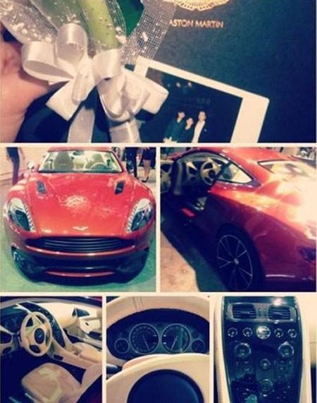 Siêu xe Aston Martin của một tiểu thư Trung Quốc