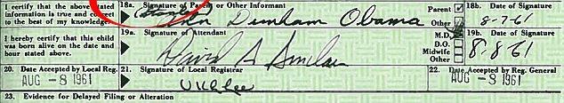 Chữ ký của bác sĩ