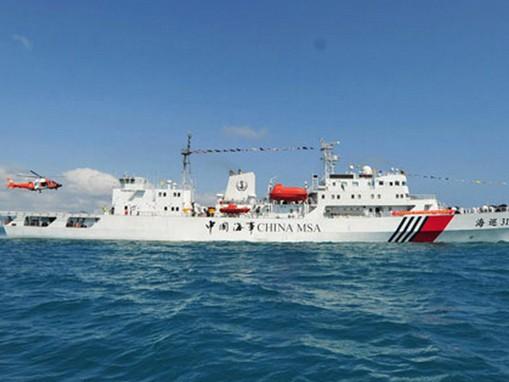 Tàu hải tuần 31 của Trung Quốc đến tuần tra ở biển Đông