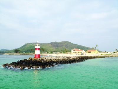Một góc đảo Lý Sơn