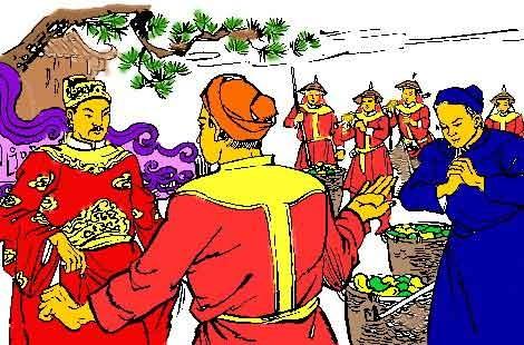 Vua Trần Thái Tông ban muỗm