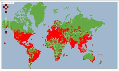 Internet toàn cầu 'rùa bò' vì đợt tấn công lịch sử - ảnh 1