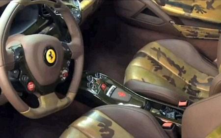 Ferrari 458 khoác 'áo lính' - ảnh 4