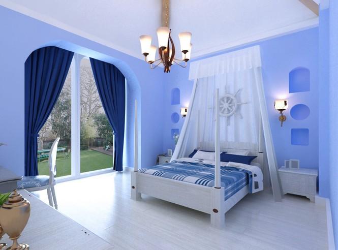 Nội thất xanh dương cho nhà mát lạnh - ảnh 3