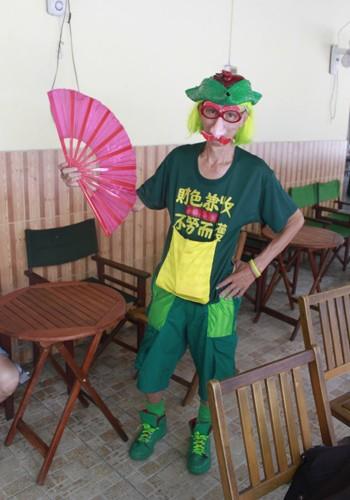 'Dị nhân' bán vé số ở Sài Gòn - ảnh 7