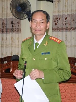 Đại tá Đỗ Văn Hoành – Phó Giám đốc Công an tỉnh Vĩnh Phúc