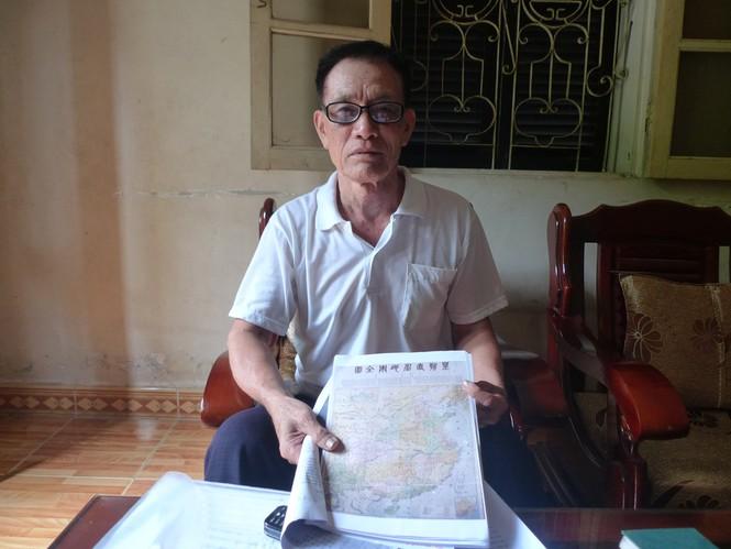 Tiến sĩ Mai Hồng và tấm bản đồ