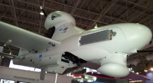 Một UAV tại Triển lãm