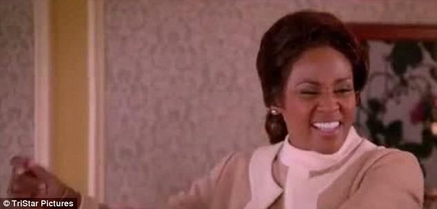 Một số cảnh quay của Whitney trong phim