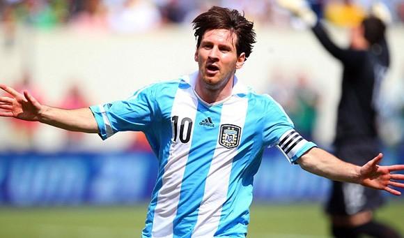 Leo Messi - ngôi sao hàng đầu của ĐT Argentina