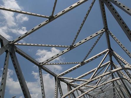 Cấu trúc của một chiếc cầu sắt. Ảnh: Yahoo News