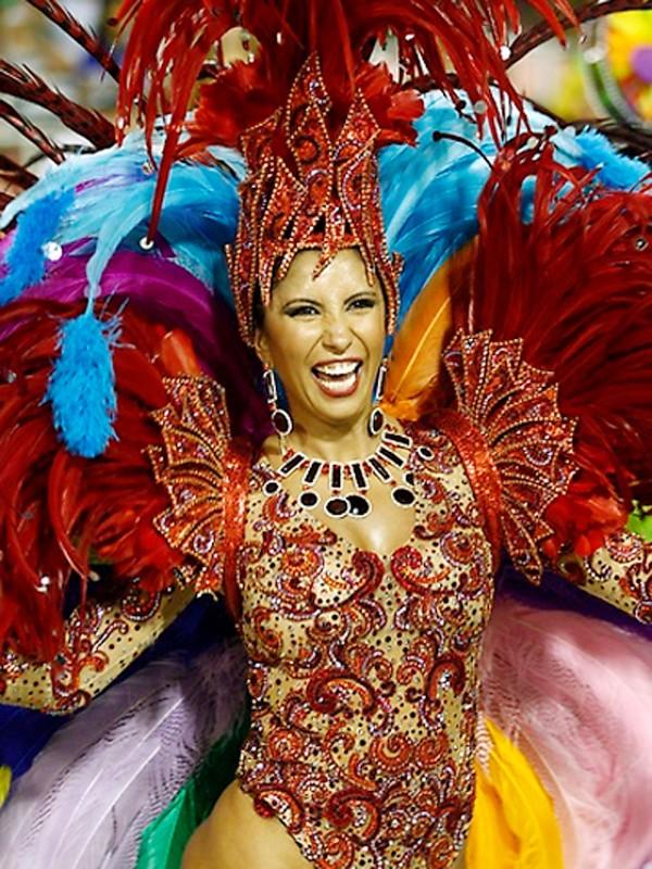 Tưng bừng lễ hội Carnival lớn nhất hành tinh - ảnh 5