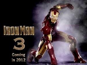 "Poster phim ""Iron Man 3."""