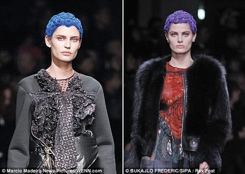 Những kiểu tóc 'nổi loạn' trên sàn catwalk Paris - ảnh 10