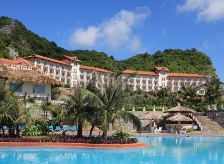 Một khu nghỉ dưỡng ở đảo Cát Bà