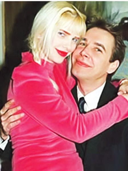 Cicciolina và ông chồng người Mỹ Jeff Koons.