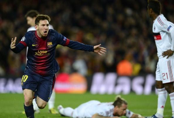 Tuyệt vời Messi! Ảnh: Getty Images