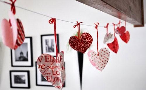 Những ý tưởng trang trí lãng mạn cho Valentine - ảnh 1