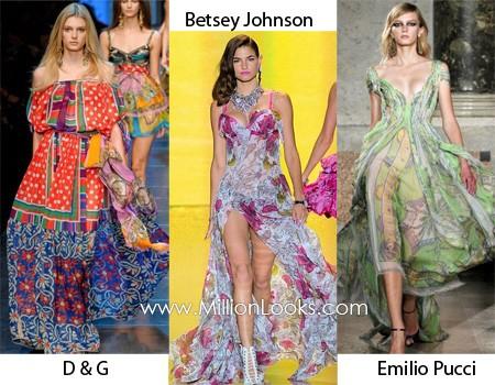 Xu hướng thời trang váy xuân hè năm 2012 - ảnh 1