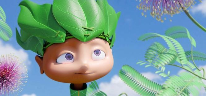 """Tạo hình nhân vật trong """"Khu đầm có cánh"""". Ảnh: HVS"""