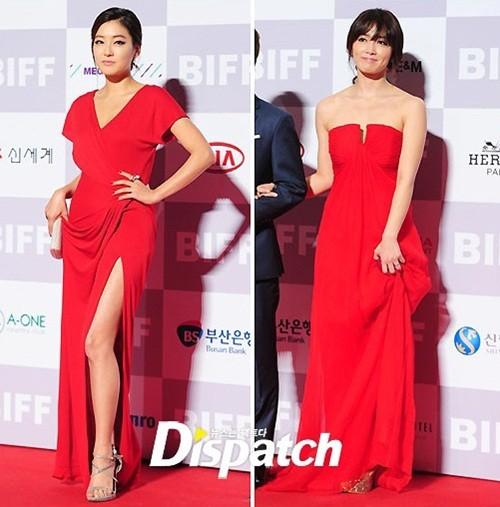 Park Jin Hee và Nam Sang Mi
