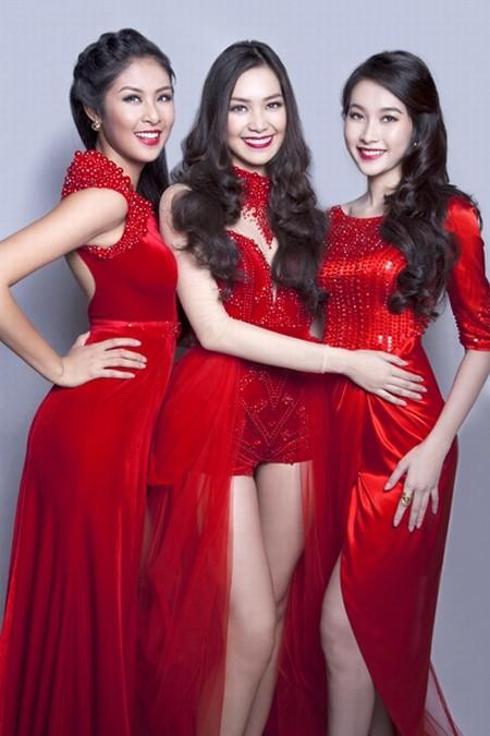 Dàn hoa hậu Việt Nam đọ sắc - ảnh 1