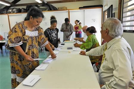 Các điểm bỏ phiếu đón tiếp các cử tri
