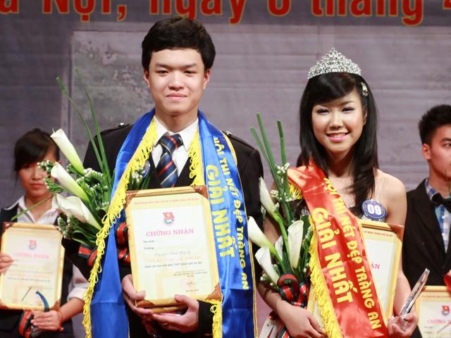 Khánh Linh đạt giải Hoa khôi của cuộc thi