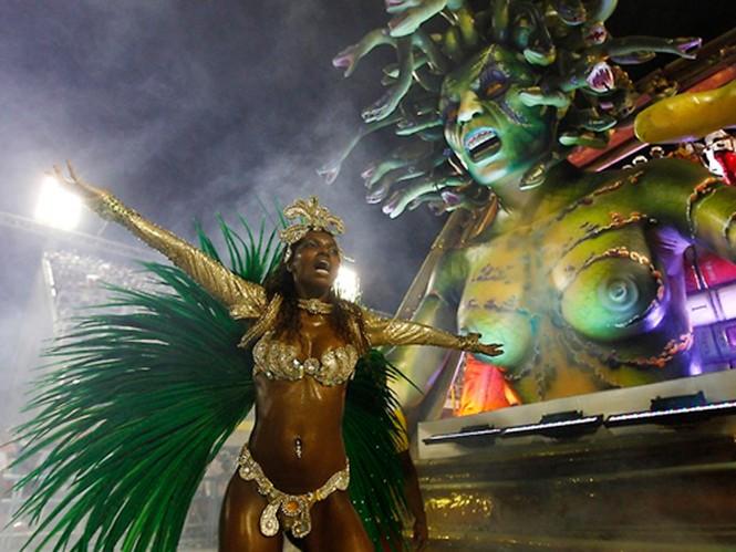 Tưng bừng lễ hội Carnival lớn nhất hành tinh - ảnh 3