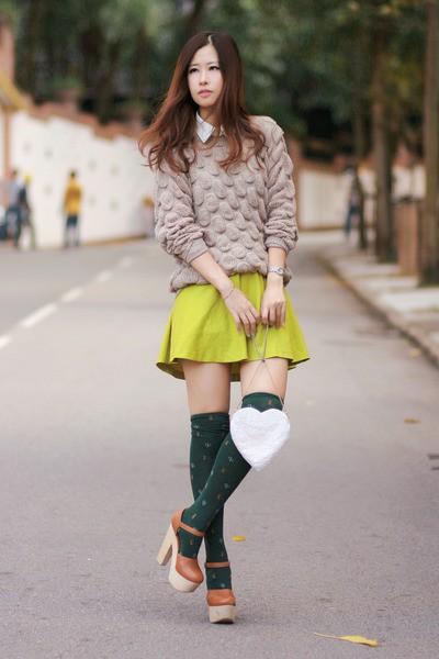 Mix đồ chất như blogger thời trang Hồng Kông - ảnh 1