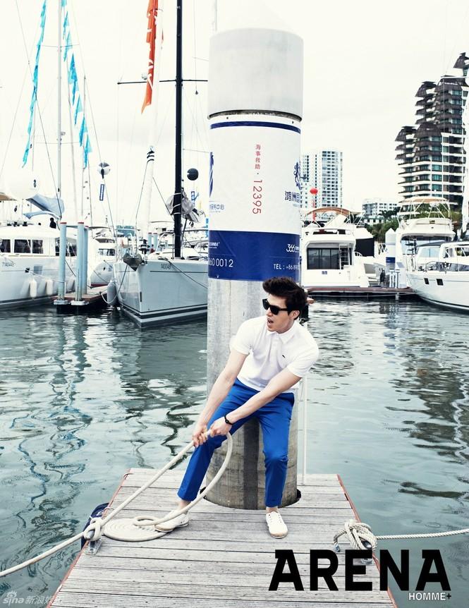 Lee Dong Wook thời thượng trên tạp chí - ảnh 6