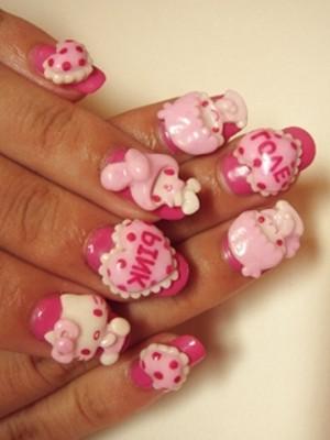 Ngộ nghĩnh với nail 'Hello Kitty' - ảnh 7
