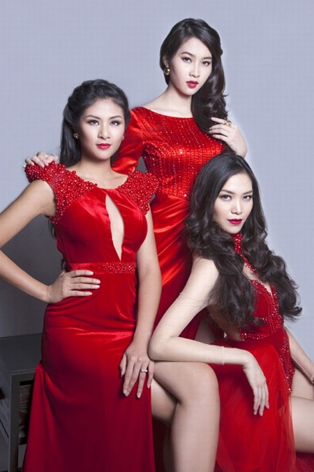 Dàn hoa hậu Việt Nam đọ sắc - ảnh 7