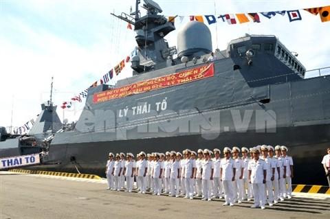 Tàu Gepard-3.9 Lý Thái Tổ của Hải quân Việt Nam