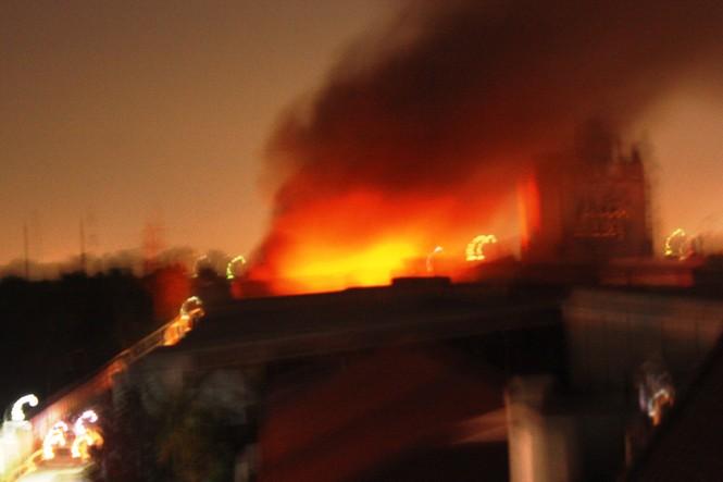 Cháy lớn tại công ty P&G - ảnh 4