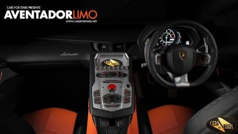 Ngắm Lamborghini Aventador Limo - ảnh 4
