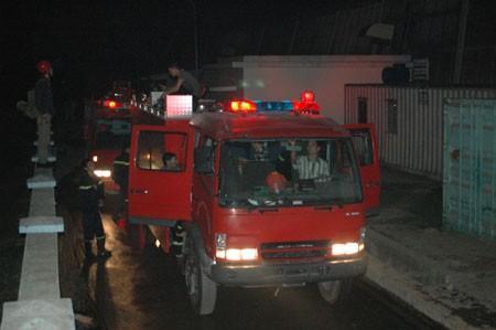 Cháy lớn tại khu công nghiệp Quang Minh - ảnh 5