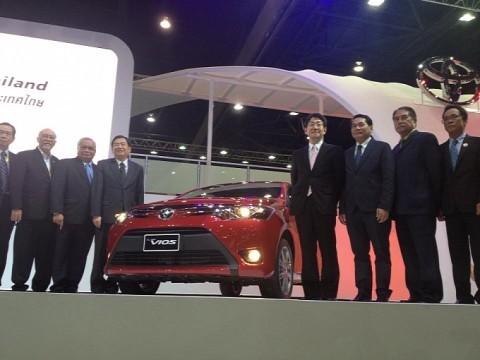 Toyota Vios 2013 ra mắt tại Thái Lan - ảnh 1