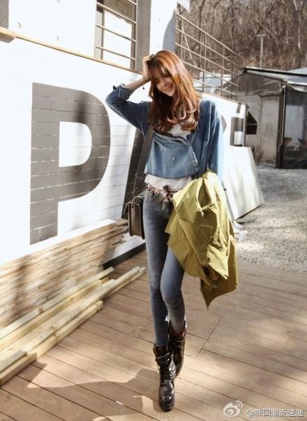 Cuối tuần xuống phố cực chất với quần jeans - ảnh 15