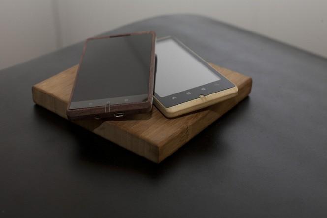 Smartphone Android bằng tre độc đáo - ảnh 2