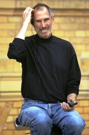 Ông Steve Jobs tại một buổi giao lưu. Ảnh: Reuters
