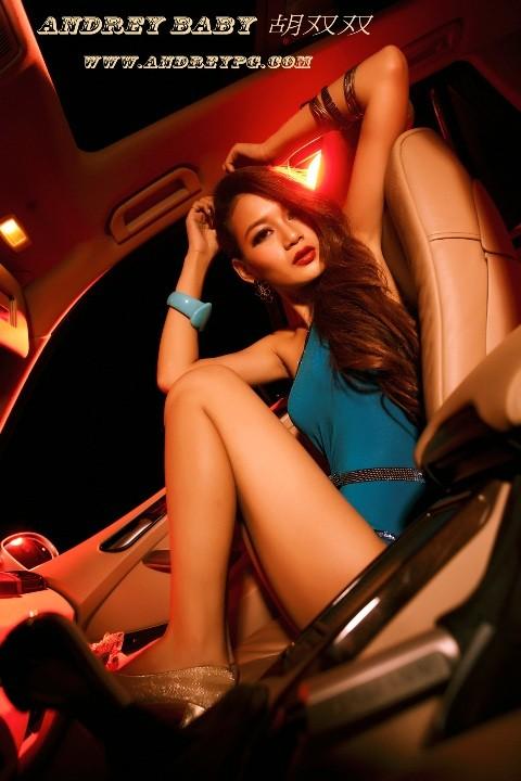 Chân dài đốt cháy ca-bin BMW - ảnh 11